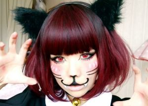 ハロウィンメイクは猫が可愛い♡簡単で高クオリティなメイク方法のサムネイル画像