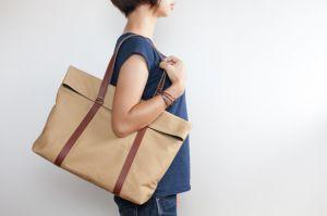 便利なトートバッグをハンドメイドで自分だけのオリジナルに!のサムネイル画像