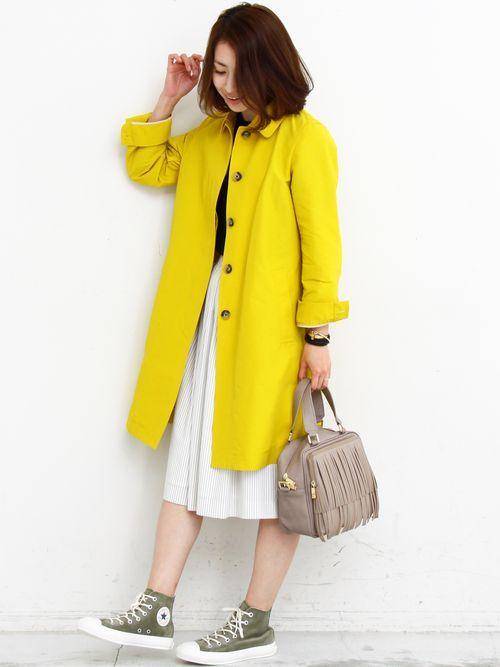 2016 春に役立つ上着は?おすすめレディースファッションコーデのサムネイル画像