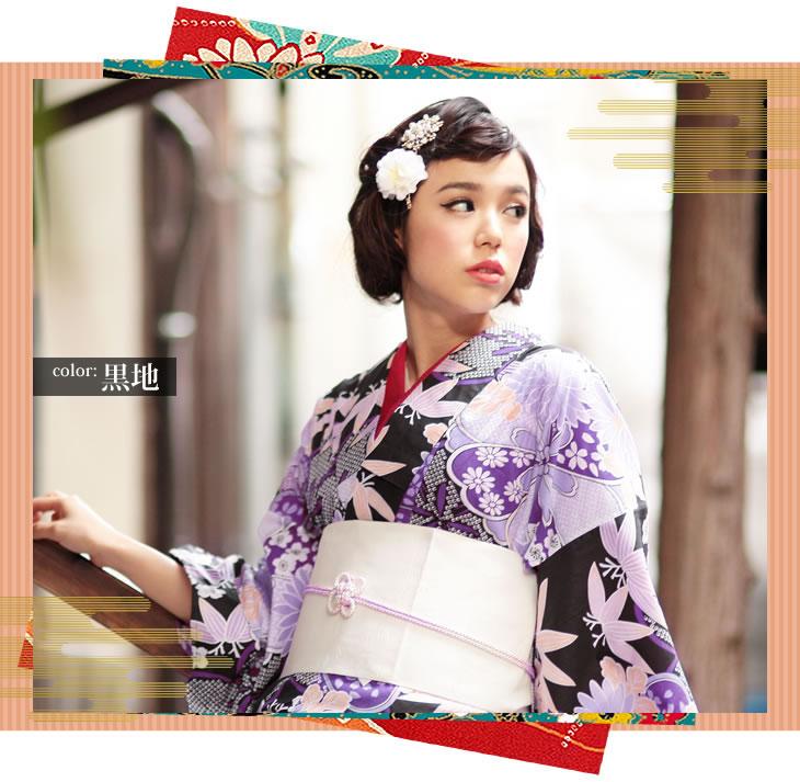 今年の浴衣はどんな柄?定番柄から、個性派柄まで浴衣画像集!のサムネイル画像
