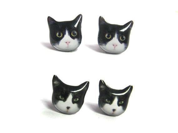 猫好きさん集まれ―!話題の動物モチーフピアスもやっぱり猫!のサムネイル画像