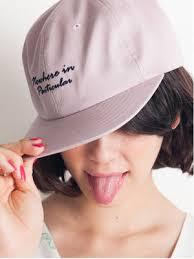 キャップを組み合わせたヘアアレンジがおしゃれ女子に磨きをかける♡のサムネイル画像