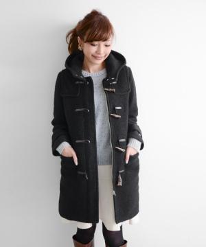 冬のおしゃれはコートから♡ダッフルコートのかわいいコーデ♡のサムネイル画像