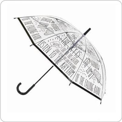 使い捨てしちゃもったいない!おしゃれなビニール傘大特集!のサムネイル画像