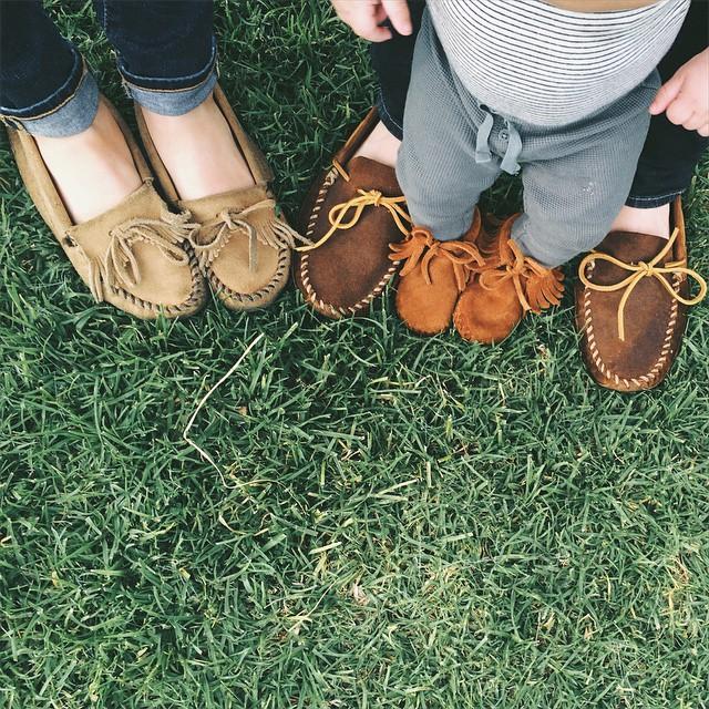 靴は楽ちん派?モカシンが可愛くておしゃれ!そして、超楽ちん!のサムネイル画像