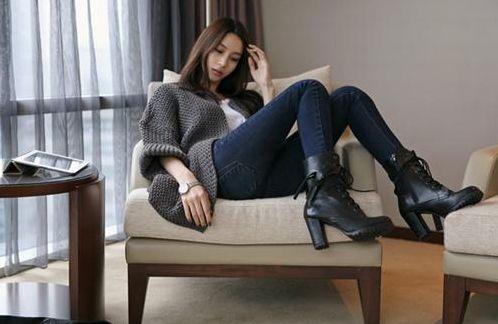 スキニーのジーンズといろんな靴で!ラフだけど上級オシャレを♡のサムネイル画像