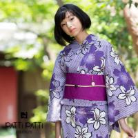 【浴衣:紫】セクシーカラー紫!浴衣のカラー組み合わせ画像のサムネイル画像