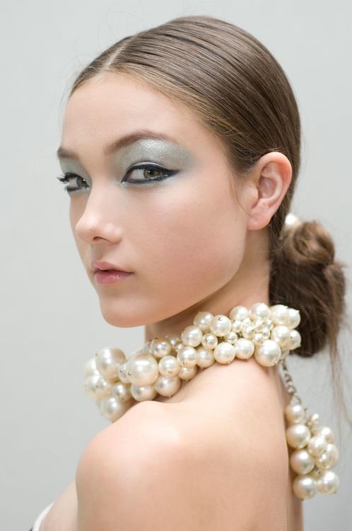フェミニン♡ロマンチックにもピッタリ☆真珠モチーフのネックレス♪のサムネイル画像