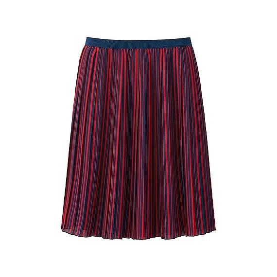 ストライプのスカートは万能アイテム♡コーディネートを楽しもう♡のサムネイル画像