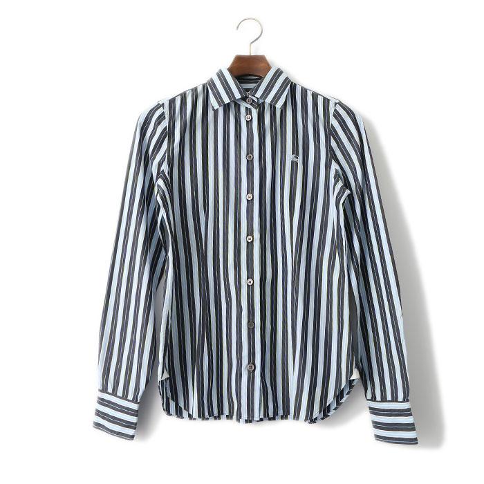 【必見!】レディースのストライプシャツコーデがおしゃれ♡のサムネイル画像