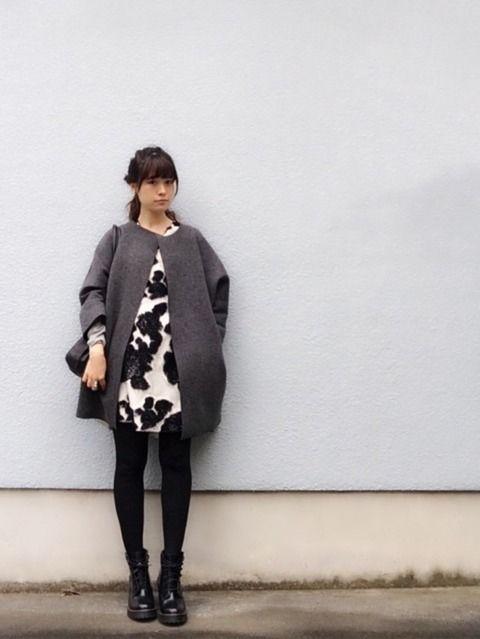 冬はワンピースコーデで決まり♡オシャレなファッションが魅力的♡のサムネイル画像
