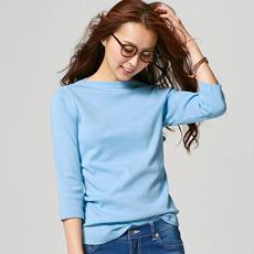 これからの季節に大活躍☆おすすめレディース七分袖Tシャツを紹介!のサムネイル画像