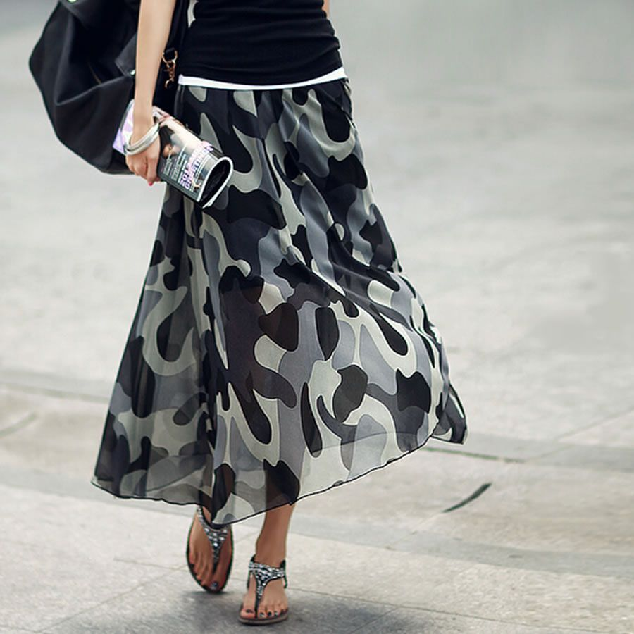 春はミリタリーが気分♡迷彩柄スカートを可愛く履きこなそう!!のサムネイル画像