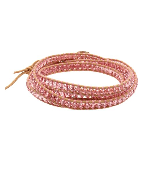 ラブリーなピンクのブレスレットを身に着けて、愛され女子になろう!のサムネイル画像