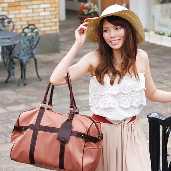 おしゃれに旅行に行こう♡レディースに人気のボストンバッグは?のサムネイル画像