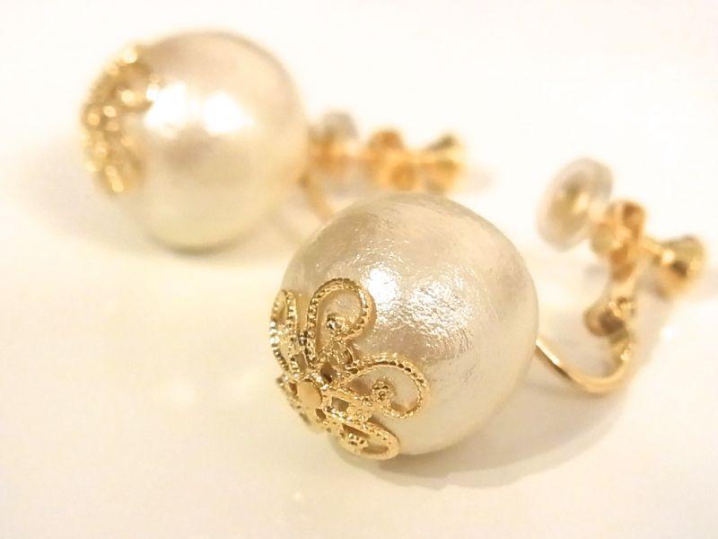 イヤリングなら…♡これからの季節!やっぱり『真珠』が可愛い♡のサムネイル画像