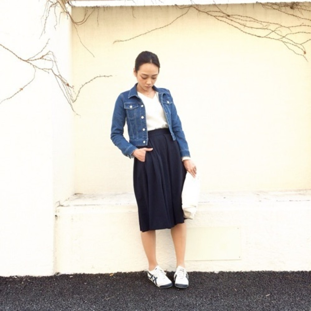 【レディース編】Gジャンを使ってコーデするのが春のオキテ♡のサムネイル画像