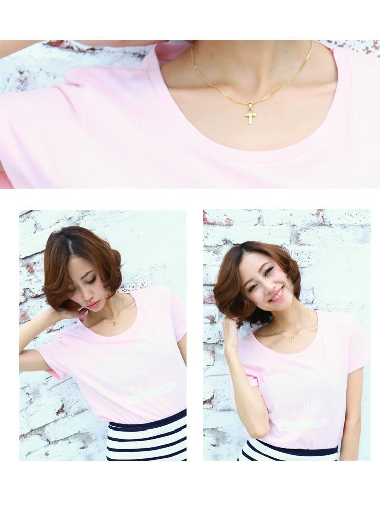万能!uネックtシャツは種類豊富でオシャレ女子の強い味方☆のサムネイル画像