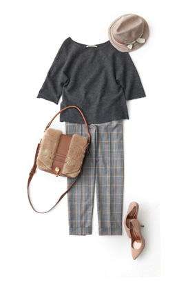 パンツスタイルは年中OK♡コーデをオシャレにしちゃいましょう♡のサムネイル画像