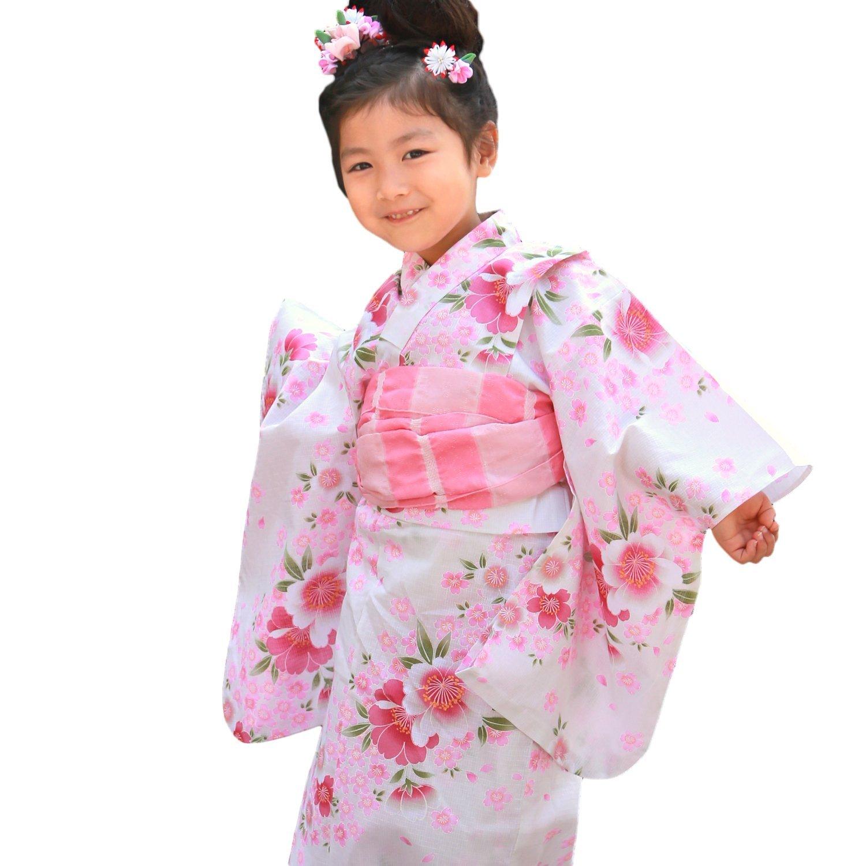 夏に着たい!かわいい女の子用キッズ浴衣‼カラー別画像集!のサムネイル画像