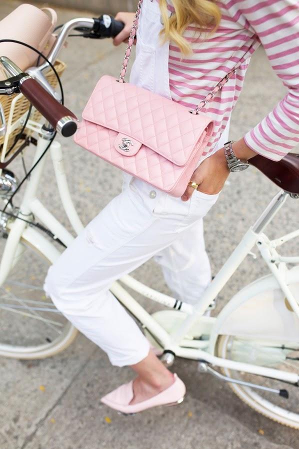 【シャネルのチェーンバッグ】シャネルのバッグのおしゃれコーデ☆のサムネイル画像