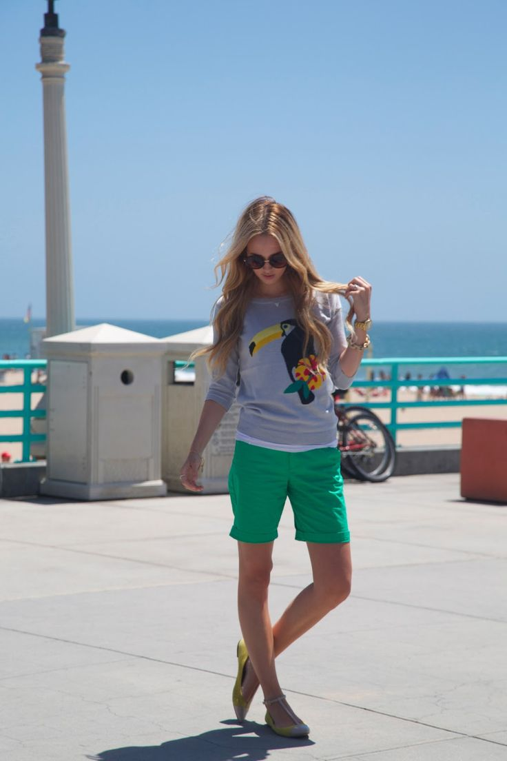 春・夏におすすめ!レディースのハーフパンツのコーデが大活躍!のサムネイル画像