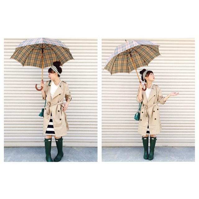 おしゃれママ必見!雨の日のお迎えもブランドレインコートで可愛く!のサムネイル画像