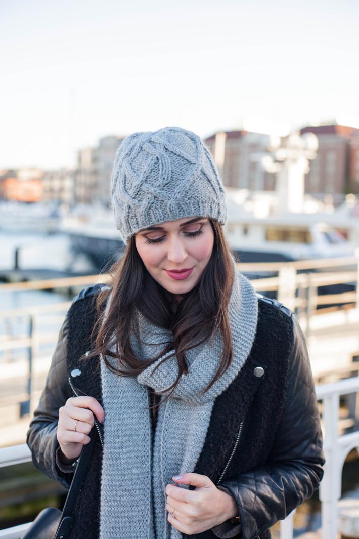 【ニット帽のかぶり方】おしゃれなニット帽のかぶり方が知りたい♡のサムネイル画像