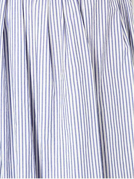涼しげに爽やかに♪ストライプロングスカートをはきこなす!!のサムネイル画像