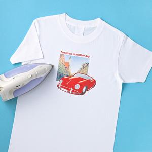 何枚あっても困らない。お気に入りのTシャツは自分で作成!のサムネイル画像