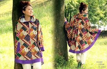 おしゃれ雨具で雨の日をハッピーに☆可愛いレインコート・ポンチョ集のサムネイル画像
