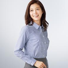 これからの時期にピッタリ!半袖のレディース用Yシャツはコレ☆のサムネイル画像