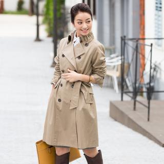 一着は欲しいトレンチコート でも高い!無印良品でトレンチコートをのサムネイル画像