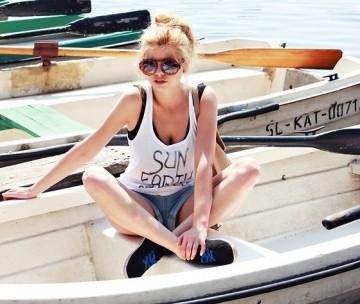 夏はタンクトップが着たい♡今年のタンクトップは重ね着です♡のサムネイル画像