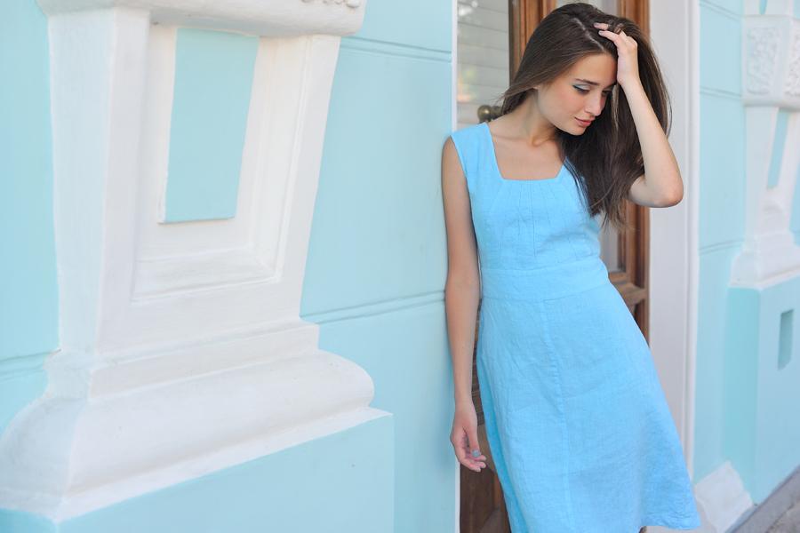 夏にぴったり!涼しくてナチュラルかわいい麻の生地の洋服♪のサムネイル画像