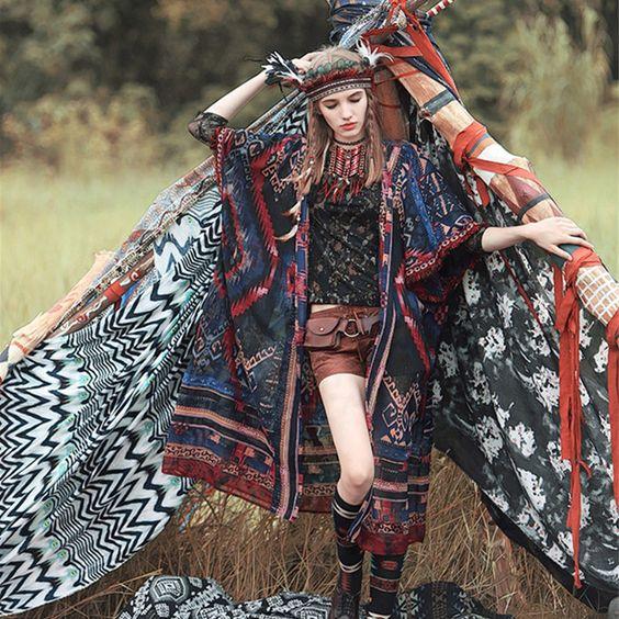【エスニックの服がまた来てる!来てます!マストです!!】のサムネイル画像
