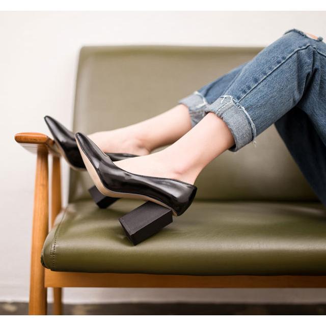 どんなスタイルにもバッチリ決まる!エナメル靴で最強コーデ☆のサムネイル画像