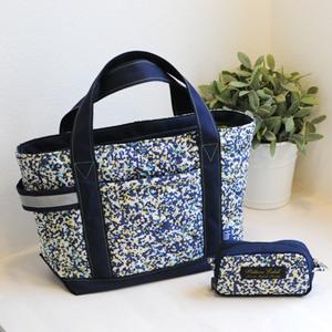 ファスナー付のトートバッグで、安心安全にお出かけしよう☆のサムネイル画像