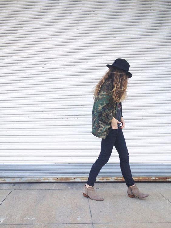 【ミリタリージャケットの種類】コーデに合わせて選びたい♡のサムネイル画像
