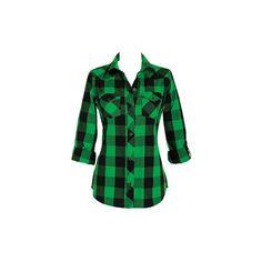 緑チェックシャツのコーデ法をご紹介!おしゃれな着こなしが魅力的のサムネイル画像