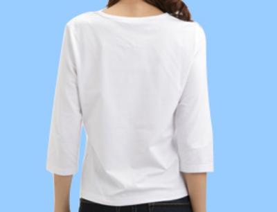 かなり使える!オトナ女子の春夏コーデには 七分袖Tシャツがマスト!のサムネイル画像