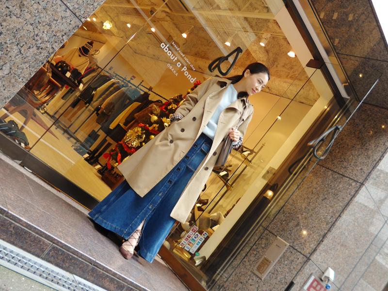 秋冬は【ロングスカート×コート】でおしゃれに決めよう!!のサムネイル画像