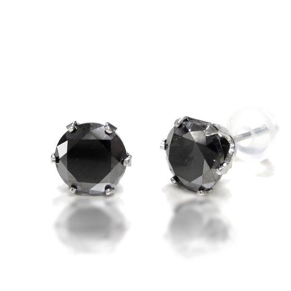 魅惑の「ブラックダイヤのピアス」でセクシーに魅了しませんか?のサムネイル画像