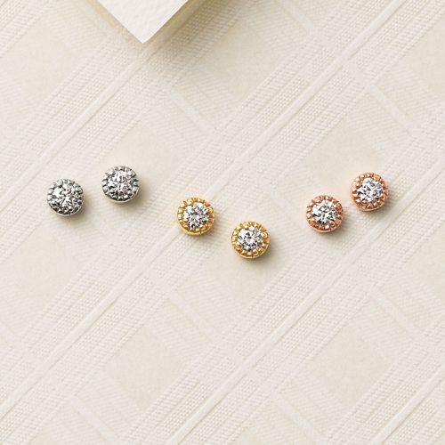 一粒ダイヤのピアスが欲しい!おすすめ4ブランドのアイテムを紹介のサムネイル画像