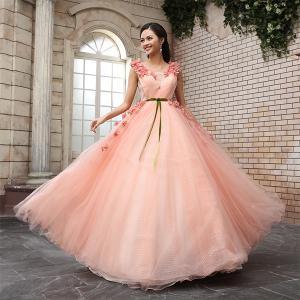 女性の好きな色ナンバーワン!ピンクのカラードレス画像集!のサムネイル画像
