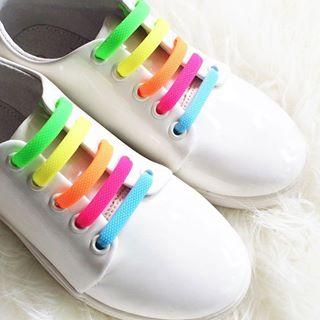 可愛い♪個性的♪スニーカー靴ひもの結び方色々あります!!のサムネイル画像