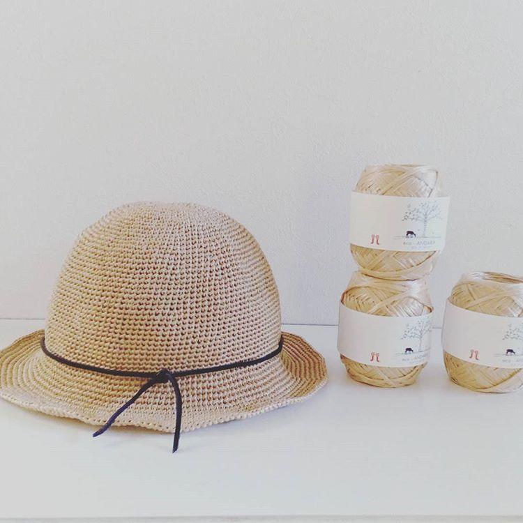 【ハンドメイド】爽やかな夏用の手編みの帽子を紹介します!のサムネイル画像