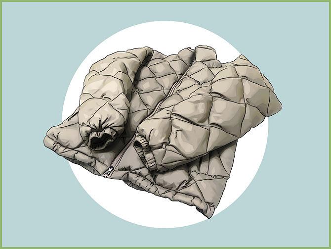 【洗い方】実は意外と簡単だった!ダウンジャケットを自宅で洗う方法のサムネイル画像