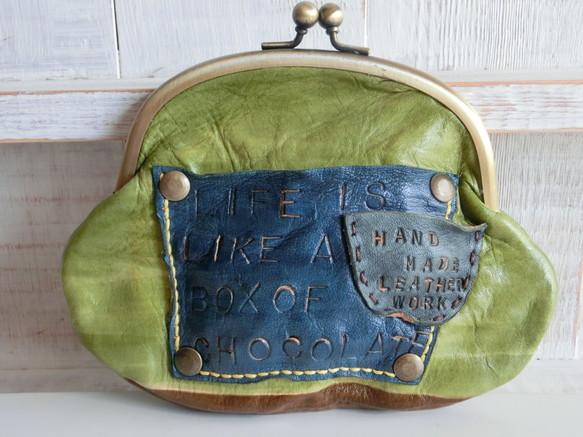 可愛い形にはまっちゃう♪革のがま口財布が可愛いんです!!のサムネイル画像