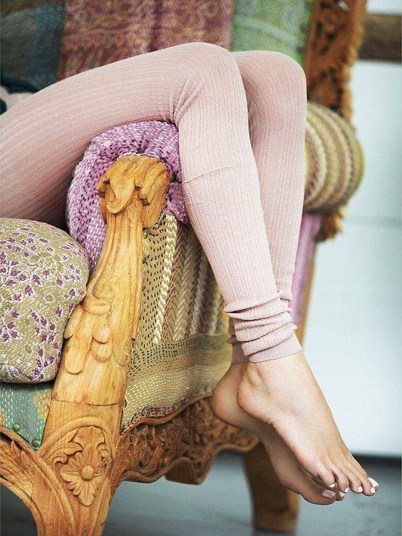 ルームウェアは【+レギンス】でオシャレに可愛く冷えしらず♡のサムネイル画像